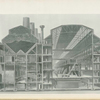 Cross section of power house in perspective.