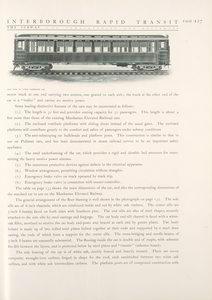 Side view of steel passenger car.