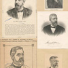 James G. Blaine [five portraits].