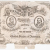 Our standard bearers. Candidates for 23rd president and vice president of the United States of America, 1884 : James G. Blaine and John A. Logan.
