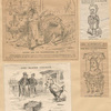 [Four caricatures of James G. Blaine.]