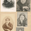 Madame Blavatsky [five portraits].