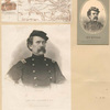 Gen. Blenker [three portraits and a map of part of Virginia and Washington D.C.].