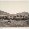 Vue general des ruines, à Mitla.
