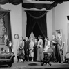 "Scene from ""Right you are if you think you are"" with Reginald Mason, Elizabeth Risdon, Helen Westley, Edward G. Robinson, et al."