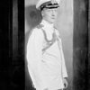 "Edward Cooper as Captain of H.M.S. ""Europa""."