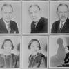 Key sheet. (Portraits of Evelin Ellis and Frank Wilson)
