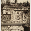 Palais Des Nonnes, à Uxmal; bas-relief de l'Indien.