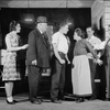 L to R: Lenita Lane (Jenny), Paul Guilfoyle (Joe Delano) [?], Eric Dressler (Angel), Valerie Bergere (Mrs. Delano), ??, James Cagney (Harry Delano).