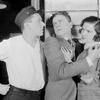 L to R: Eric Dressler (Angel), Frank Rowan (Mitch McKane) and Lenita Lane (Jenny Delano).