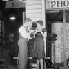 James Cagney (Harry Delano) and Joan Blondell (Myrtle).