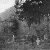 Weston Chapel, Hagley Plantation, Waccamaw, S. C.  One of the most notable chapels of the South, in which religious instruction was given to slaves.  Graves of slaves are shown in the foreground.