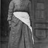 "Caroline Lawson.  Judge Tayloe's ""Black Mammy,"" standing on the ""gallery"" of the plantation house."