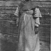 "Aunt Charlotte.  ""Aunt Charlotte Anne"" Lawson, is one of the Windsor Plantation characters.  She was the slave of Captain Henry Tayloe, and was eighty years old when the picture was taken."