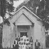 Faith Memorial Chapel.  Built by Rev. Mr.Guerry after the war.  Services are held on Sunday, and during the week there is school here for Negro children.