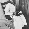 Aunt Jonas.  She is Drualla Jones, aged ninety-four, and was the slave Thomas Ferrell.  She and two others were the only old slaves I found who were not loyal to their owners.  During the war she tried to burn her master's house.