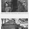 "Types of present day Negro women, Hermitage Plantation. ; The ""Quarters"" at Hermitage Plantation."