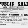 Commissioner's sale in 1863.