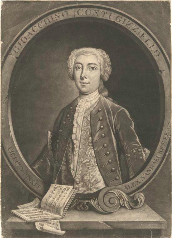Fascinating Historical Picture of Alexander van Haecken in 1736