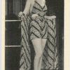Iris Adrian, A Paramount Film Star is here shown wearing a smartbeach outfit and certainly looking well in it.