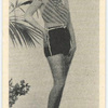 Dolores Casey, A Paramount Film Star attractively attired to enjoythe sun-shine and the sea.