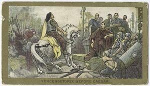 Vercengetorix before Caesar.