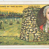 Battle of Culloden [April 16th, 1746]. (The gravestones of the clans; the battlefield; the cairn; Bonnie Prince Charlie.)