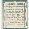 Battle of Harlech [March 16th, 1647]. (Captain Owen; Harlech Castle.)
