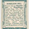 Battle of Homildon Hill [September 14th, 1402]. (Akeld Tower; the battlefield; Henry IV.)