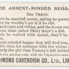 The absent-minded beggar. 2nd verse.
