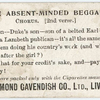 The absent-minded beggar. Chorus. (2nd verse.)