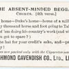 The absent-minded beggar. Chorus. (4th verse.)