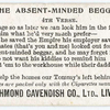 The absent-minded beggar. 4th verse.
