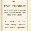 Eve Thorne.