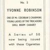 Yvonne Robinson.