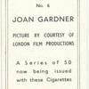 Joan Gardner.