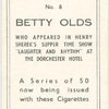 Betty Olds.