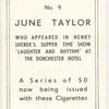 June Taylor.