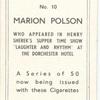Marion Polson.