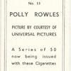 Polly Rowles.