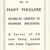 Mary Maguire.