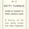 Betty Furness.