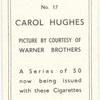 Carol Hughes.