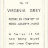Virginia Grey.