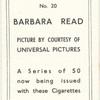 Barbara Read.