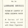 Lorraine Bridges.