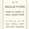 Grace Ford.