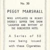 Peggy Marshall.