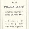 Priscilla Lawson.