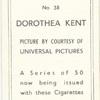 Dorothea Kent.